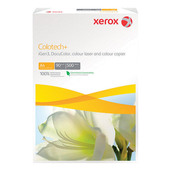Xerox A4 90g White Colotech Paper 5 Reams (2500 Sheets)