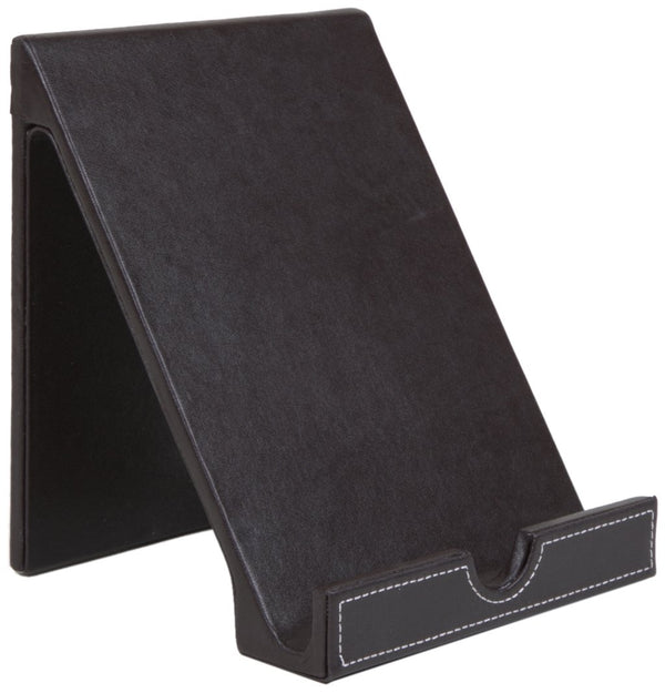 Osco Brown Faux Leather Tablet Holder