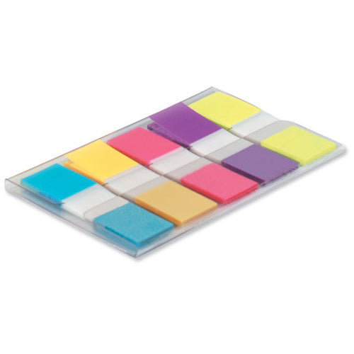 3M Post-it Index 12mm Mini Labels Portable Bright Colours Pack