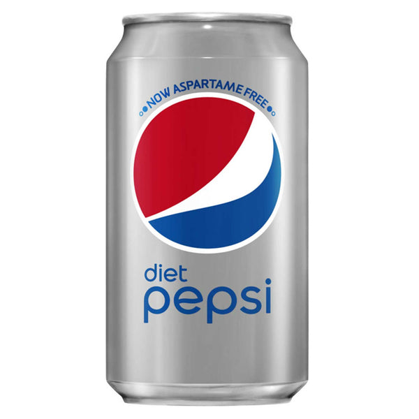 Diet Pepsi Cans 330ml (Pack of 24)