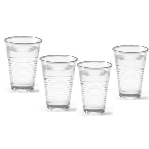 7oz Belgravia Clear Disposable Water Cups 1000s