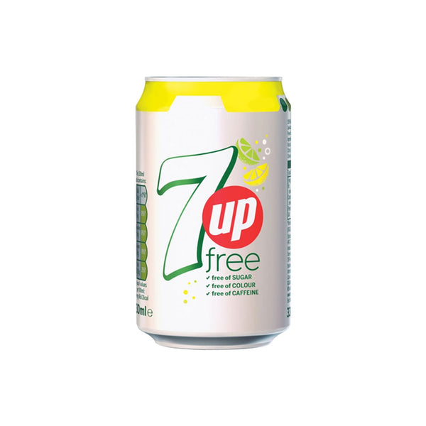7up Sugar Free Cans 24x330ml