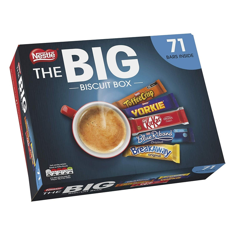 Nestle The Big Biscuit Variety Box 71's
