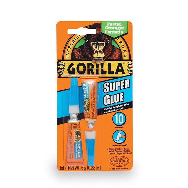 Gorilla Superglue 3g Tube Pack 2's