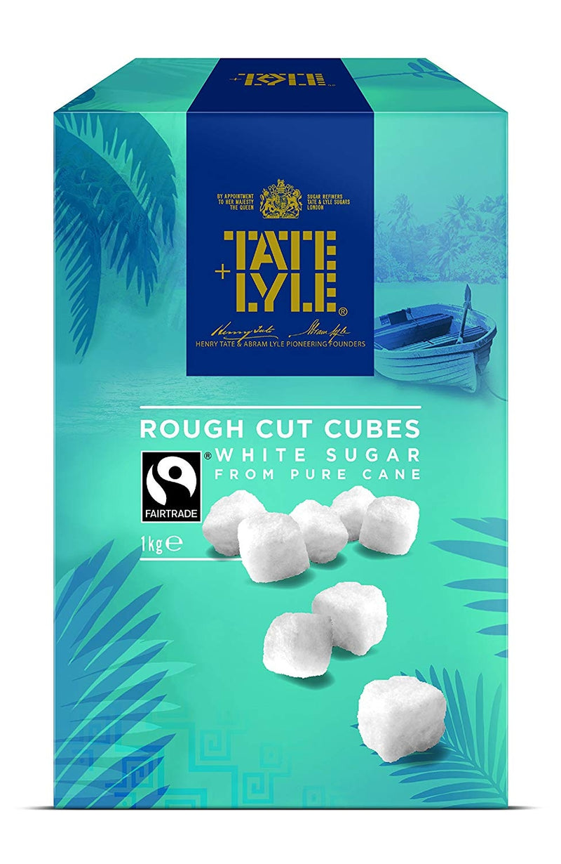 Tate + Lyle Rough Cut White Sugar Cubes 1kg