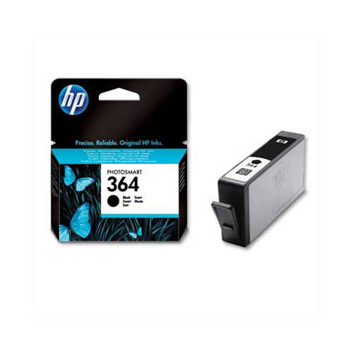 Hewlett Packard HP No.364 Black Inkjet Cartridge Code CB316EE