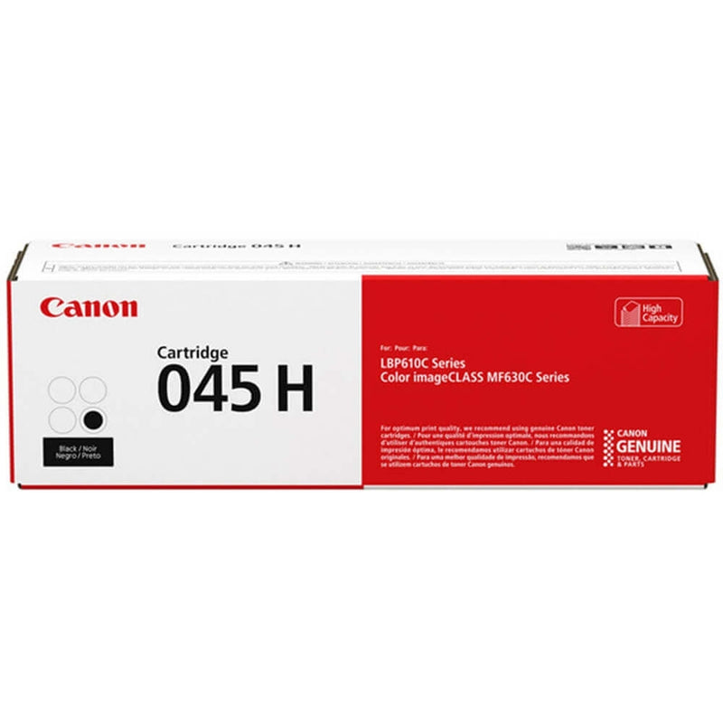 Canon 045H Black (Yield 2,800 Pages) High Capacity Toner Cartridge