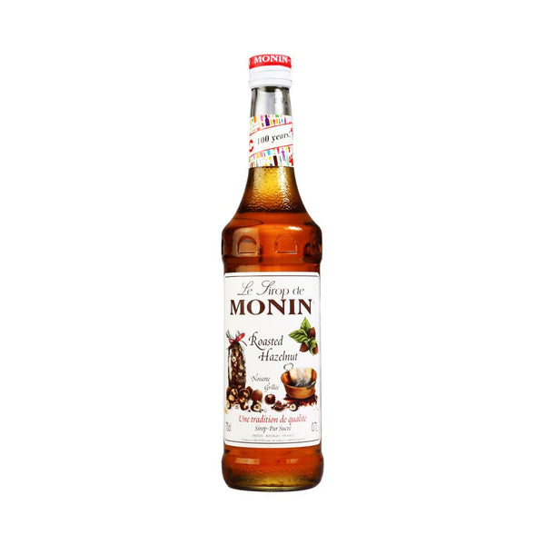 Monin Roasted Hazelnut Coffee Syrup 1 Litre (Plastic) (Full Pack 6's)