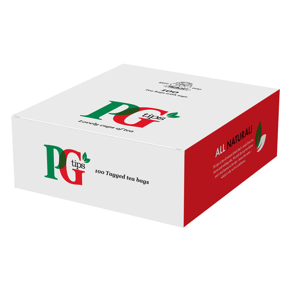 PG Tips String & Tagged Tea Bags 100s