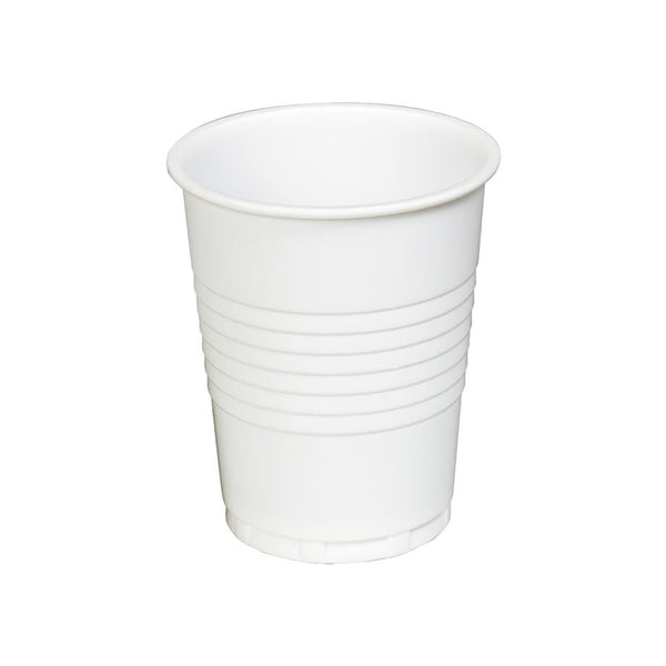 9oz Plastic Vending White Cups 100's