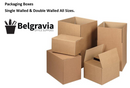 Belgravia Single Walled Cardboard Box Size J (250mm x 190mm x 170mm)