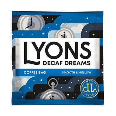 Lyons Decaf Dreams Coffee Bags 150's