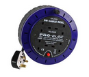 4 Way/Gang Extension Reel with 5m Cable UK {Child Proof Sockets}