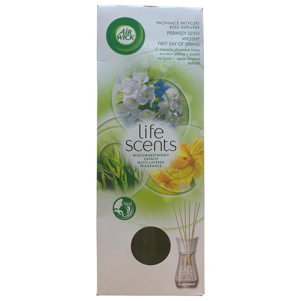 Airwick Life Scents First Day of Spring Reed Diffuser 30ml