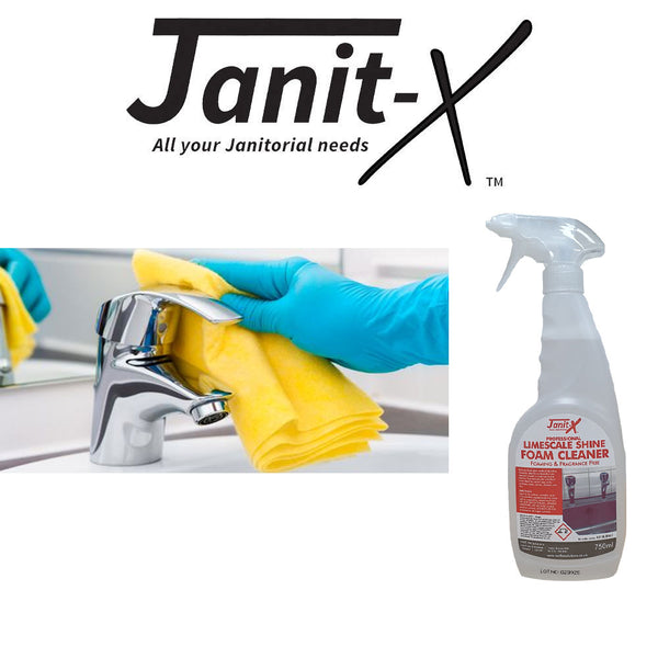 Janit-X Professional Limescale Shine Foam Cleaner 750ml