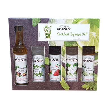 Monin Syrup Cocktail Gift Set (5x5cl)
