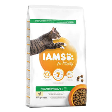 IAMS for Vitality Adult Cat Food Fresh Chicken 10kg