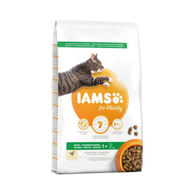 IAMS for Vitality Adult Cat Food Fresh Chicken 800g