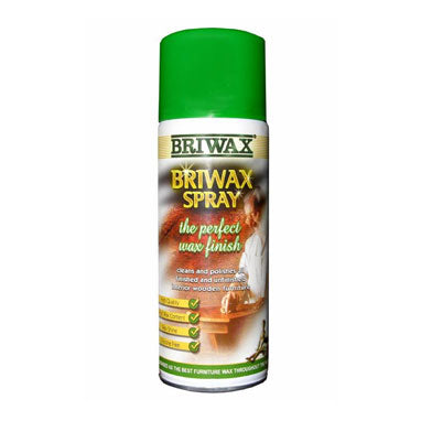 Briwax Spray Furniture Polish Wax 400ml
