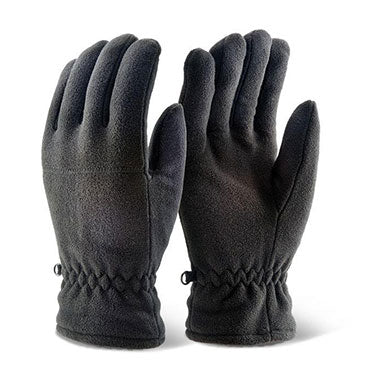 B-Click 2000 Black Thinsulate Fleece Gloves (Pair)