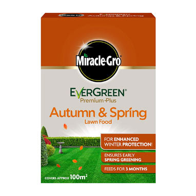 Miracle Gro Evergreen Autumn & Spring Lawn Food 100m2