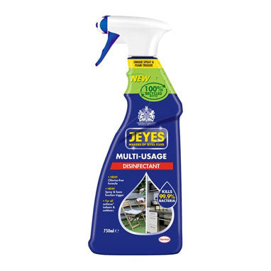 Jeyes Multi-Usage Disinfectant Trigger Spray 750ml