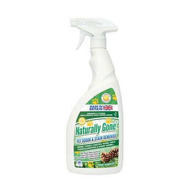 Naturally Gone Pet, Odour & Stain Remover Pine Forest 750ml