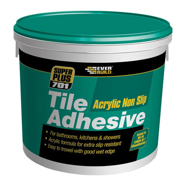 Everbuild Super Plus 701 Tile Adhesive 10 Litre