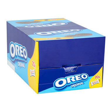 Oreo Original Sandwich Biscuits 66g Pack 20's