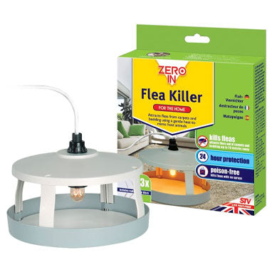 Zero-in Flea Killer Heat Lamp (ZER020)