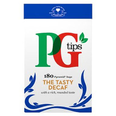 PG Tips Decaf 180's