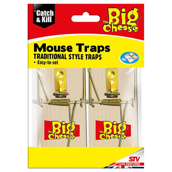 Big Cheese Traditional Style Traps 4 Pack (STV040)