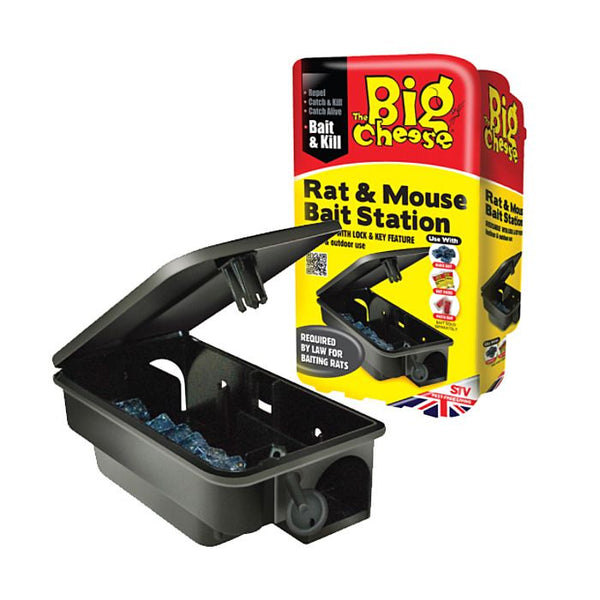 Big Cheese Rat & Mouse Bait Station (STV179)