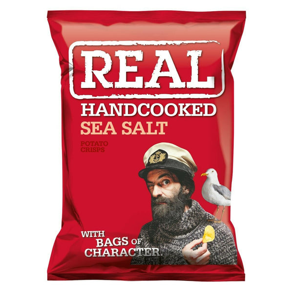 Real Crisps Sea Salt 24 x 35g