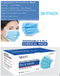 Disposable 3 Ply Surgical Face Mask Pack 50's