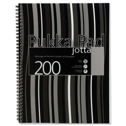 Pukka Pads A4 Black Stripes