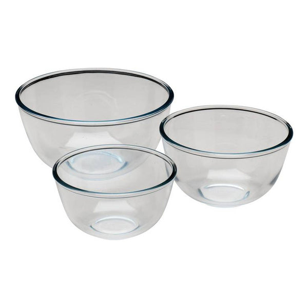 Pyrex 3 Piece Bowl Set