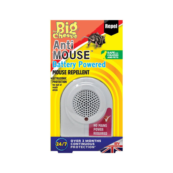 Big Cheese Anti Mouse Battery Powered Mouse Repellent