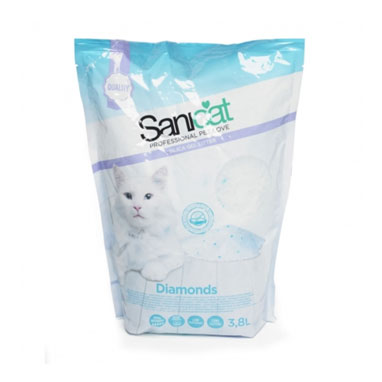 Sanicat Professional Diamonds Litter 3.8 Litre