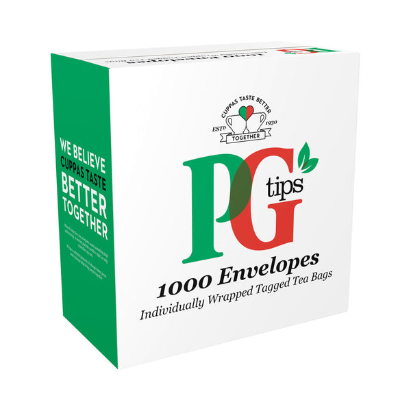 PG Tips Envelope Tea Bags (Pack of 1000)