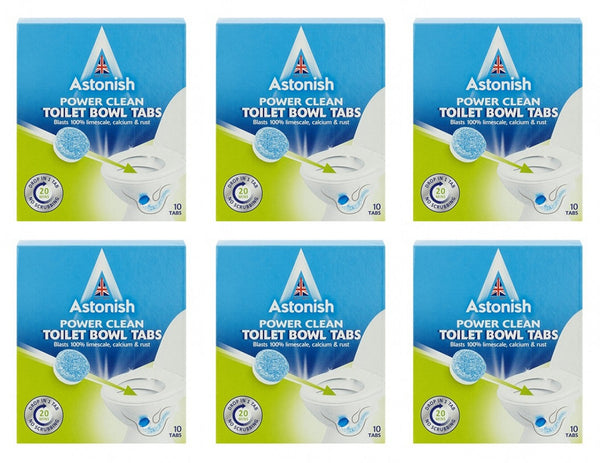 Astonish Toilet Bowl Cleaner & limescale remover Tablets Pack Of 10