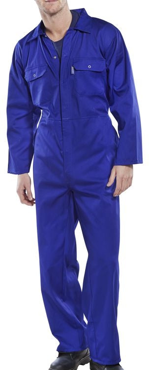 Basic Boiler Suit Blue {All Sizes}