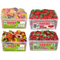 Haribo 4 x Multi Pack Tubs Giant Strawberry's, Sour & Normal Dummies, Happy Cherries