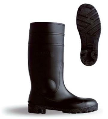 PVC SAFETY BOOT S5 BLACK {All Sizes}