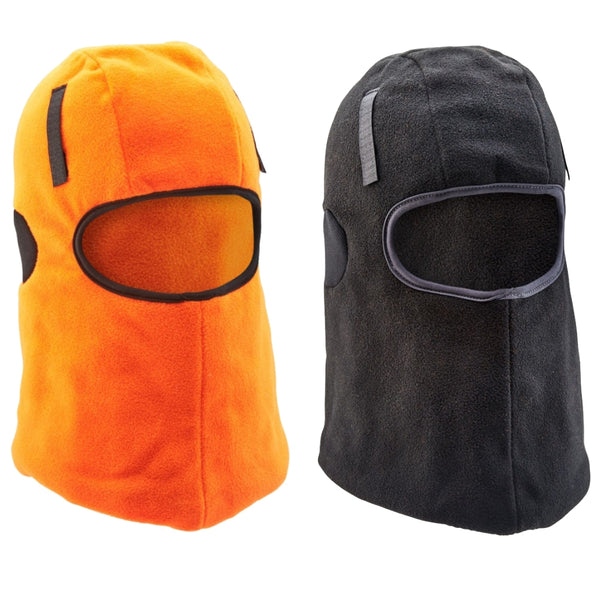 B-Click Workwear Thinsulate Hook & Loop Balaclava (Black or Orange)
