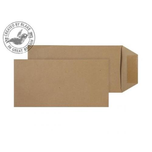 Blake Purely Everyday (DL) 80g/m2 Gummed Pocket Envelopes (Manilla) Pack of 500