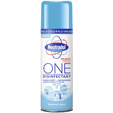 Neutradol One Disinfectant Spray Relaxing Cotton 300ml