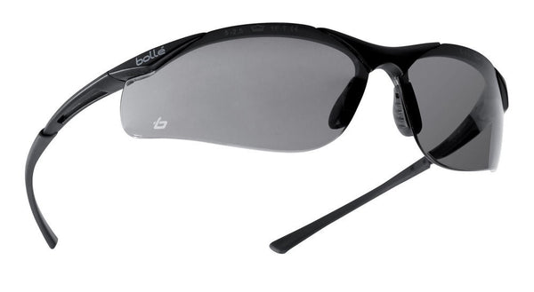 Bolle BOCONTPSF Contour Platinum Smoke Safety Glasses