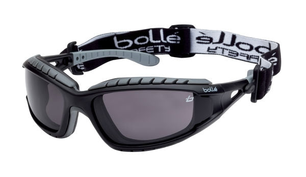 Bolle Safety Tracker Platinum Smoke Goggles
