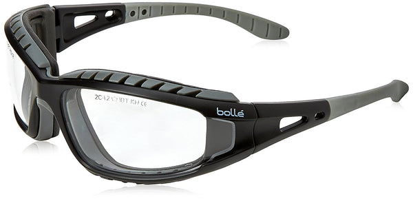 Bolle TRACPSI Tracker Safety Goggles & Safety Strap - Vented Clear